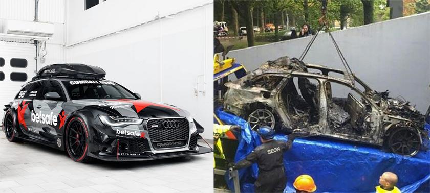 Air Filter Car >> Jon Olsson's Audi RS6 DTM Stolen & Torched - Downdays - # ...
