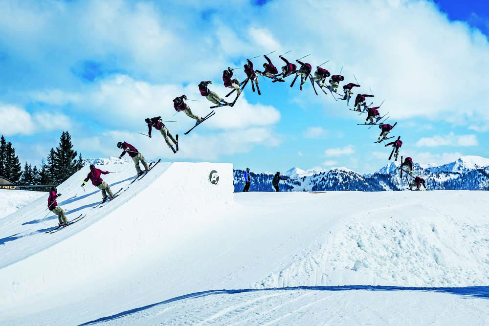 The pro kicker line at Absolut Park Flachauwinkl provides all the airtime you need