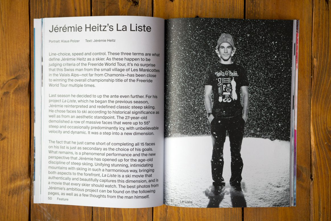Get into Jeremie Heitz's mind in the latest Downdays issue, available now.