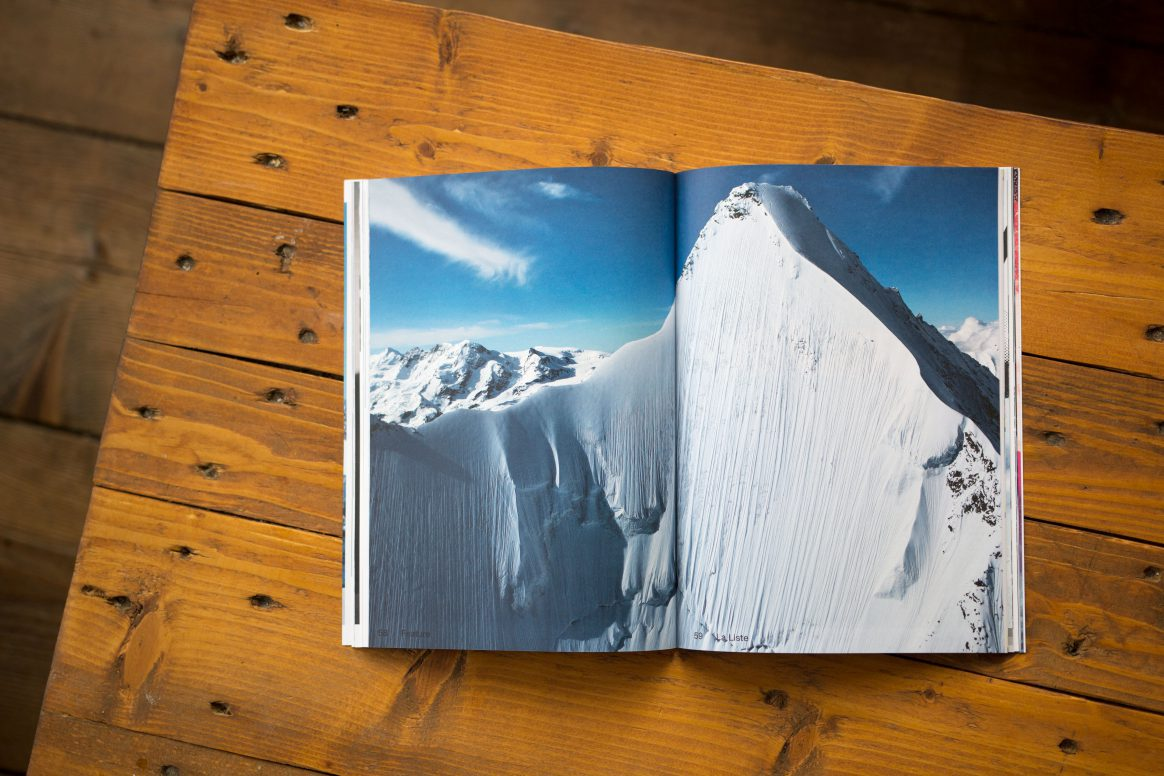 New Downdays January issue featuring Jeremie Heitz and La Liste