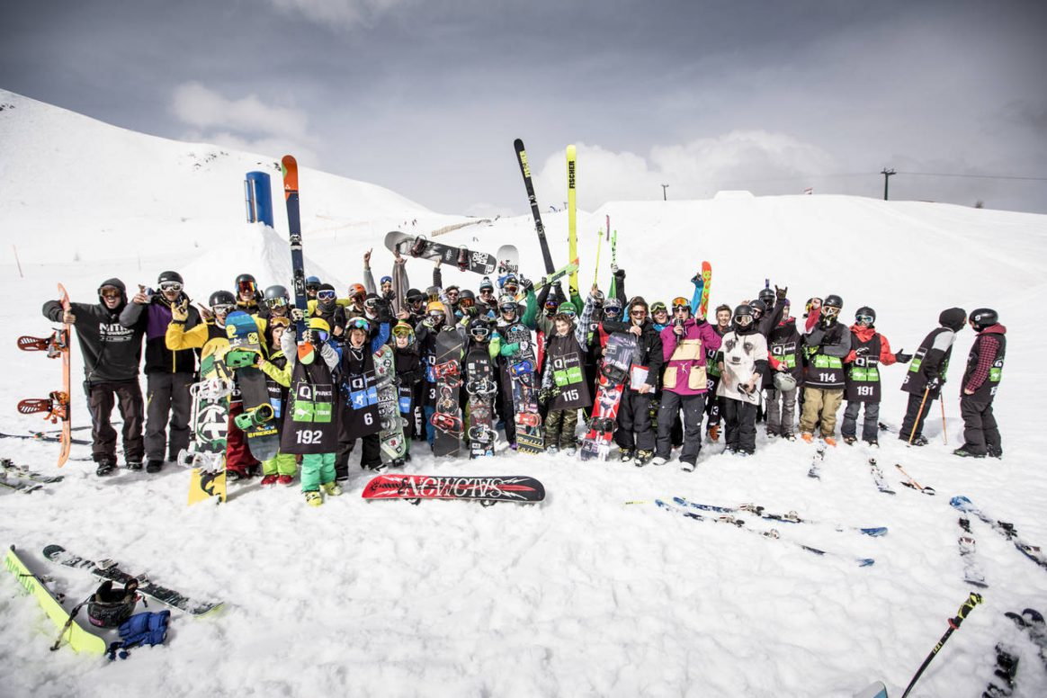 The whole Gang at QParks Tour Turracher Höhe back in 2014 by Roland Haschka