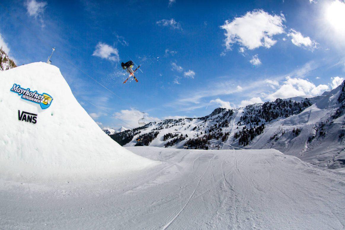 Mathias Kranebitter enjoying some air-time captured by Patrick Steiner