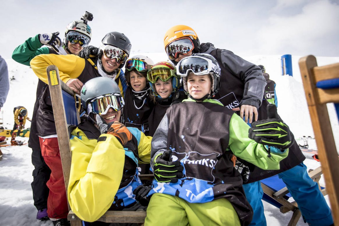 No matter your age you are destined to have fun at the QParks Freeski Tour captured by Roland Haschka