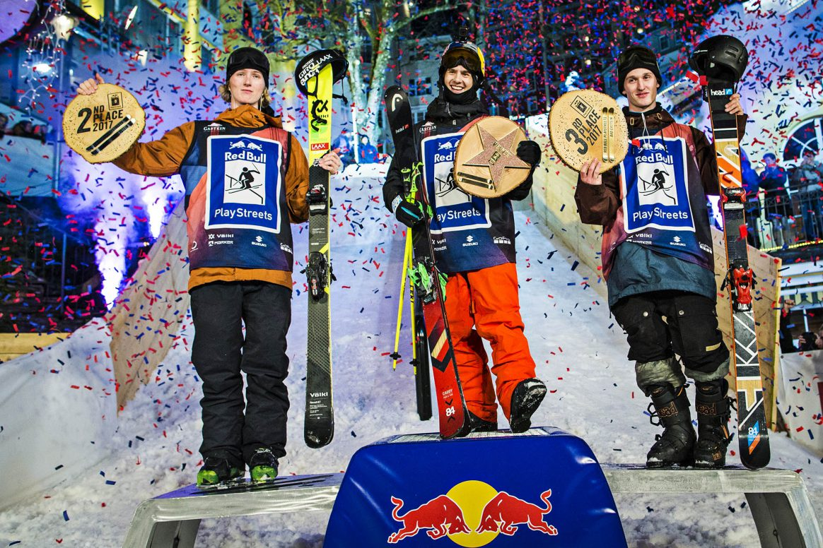 Red Bull Playstreets Bad Gastein 2017 Podium