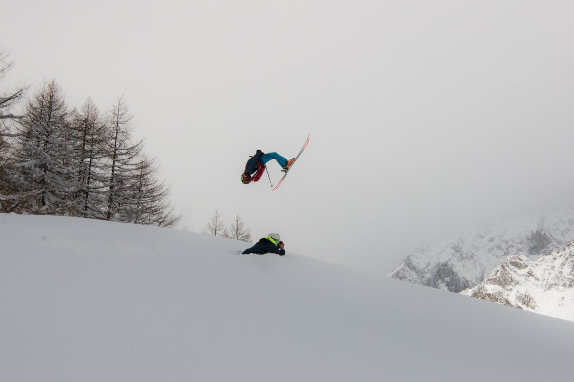 Backflips are always welcome at the 2017 Click on the Mountain