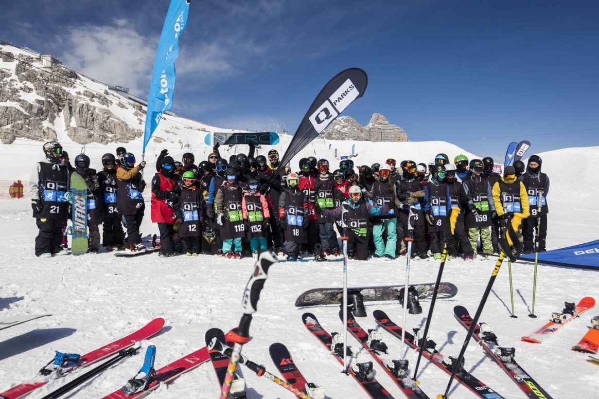 Prepare for fun and great times at the 2017 QParks Freeski Tour final at Dachstein Superpark
