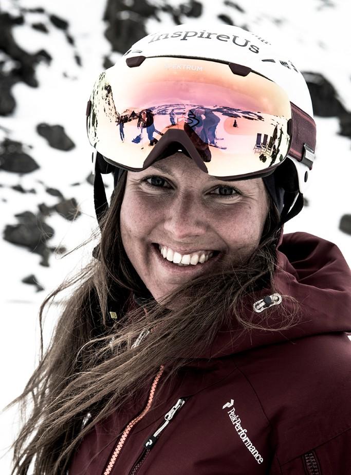 Caroline Strömberg at last years Scandinavian Big Mountain Championships
