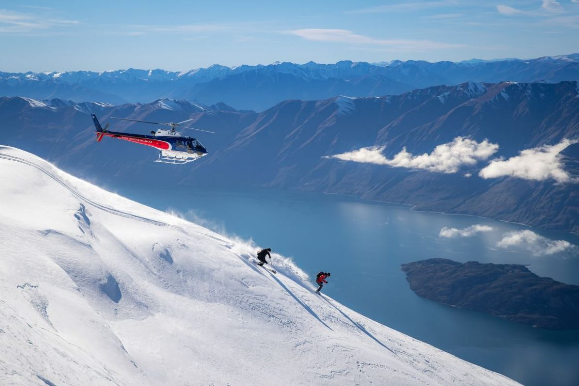 If you want to get away from the resort a quick heli skiing trip might be your best bet to chase un-tracked powder