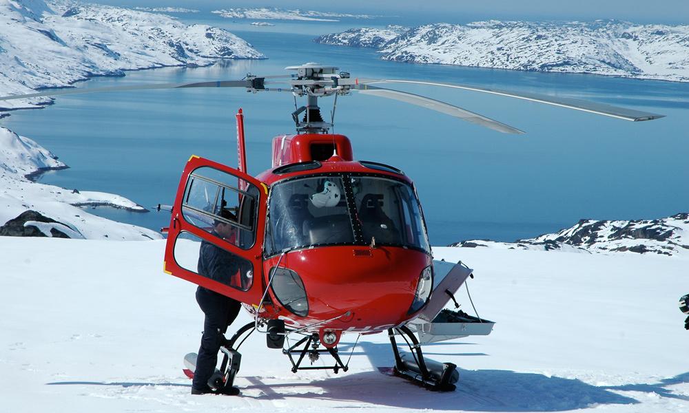 © Greenland Heliskiing
