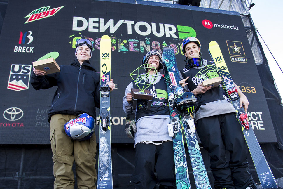 Dew Tour Breck just wrapped up this past weekend & it was a glorious kick off to the competition season with an insane level of skiing.