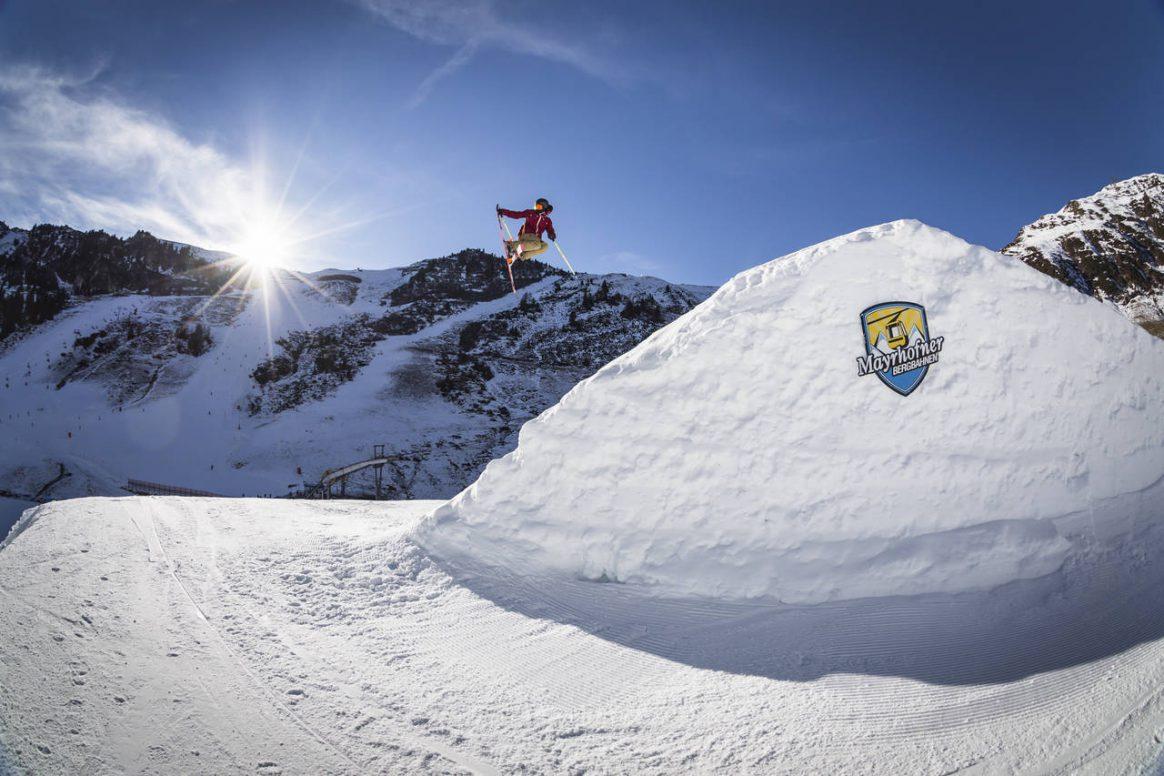 Penken Battle, QParks, Freeski Tour, Mayrhofen, competition, park, jumps, rails, downdays