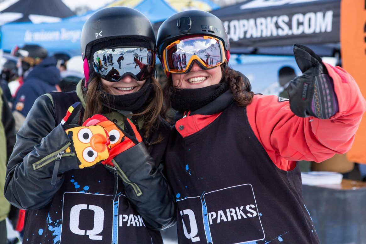 Penken Battle, QParks, Freeski Tour, Mayrhofen, competition, park, jumps, rails, downdays