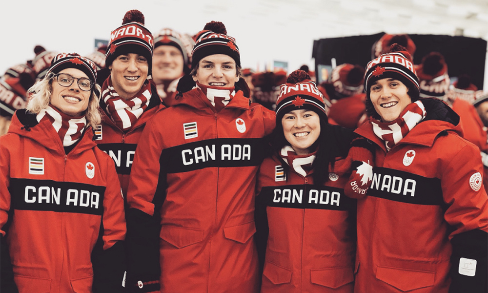 Canadian Olympic Ski Slopestyle Men