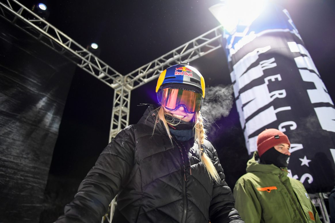 Lisa Zimmermann at the 2017 Winter X Games