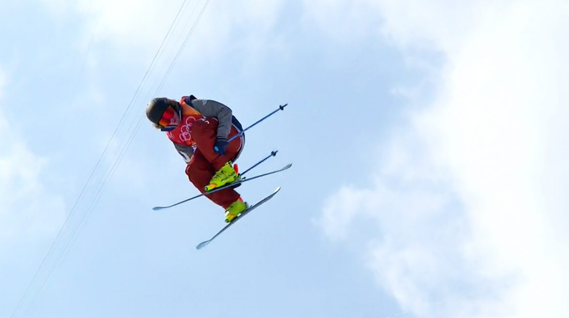 David Wise Gold Medalist in Halfpipe at the 2018 Winter Olympics