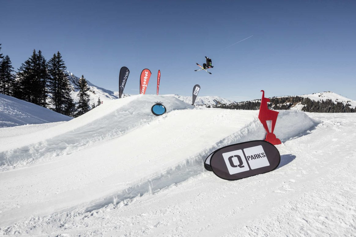 Sick Trick tour Open at snowpark Kitzbühel