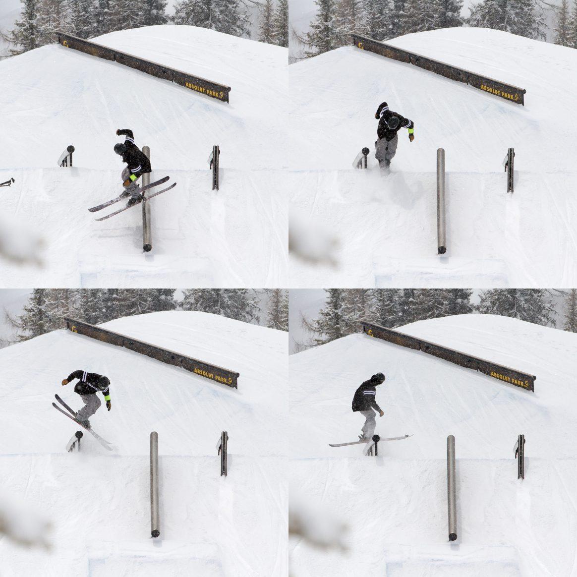Quinn Wolferman rail sequence at Absolut Park Spring Battle