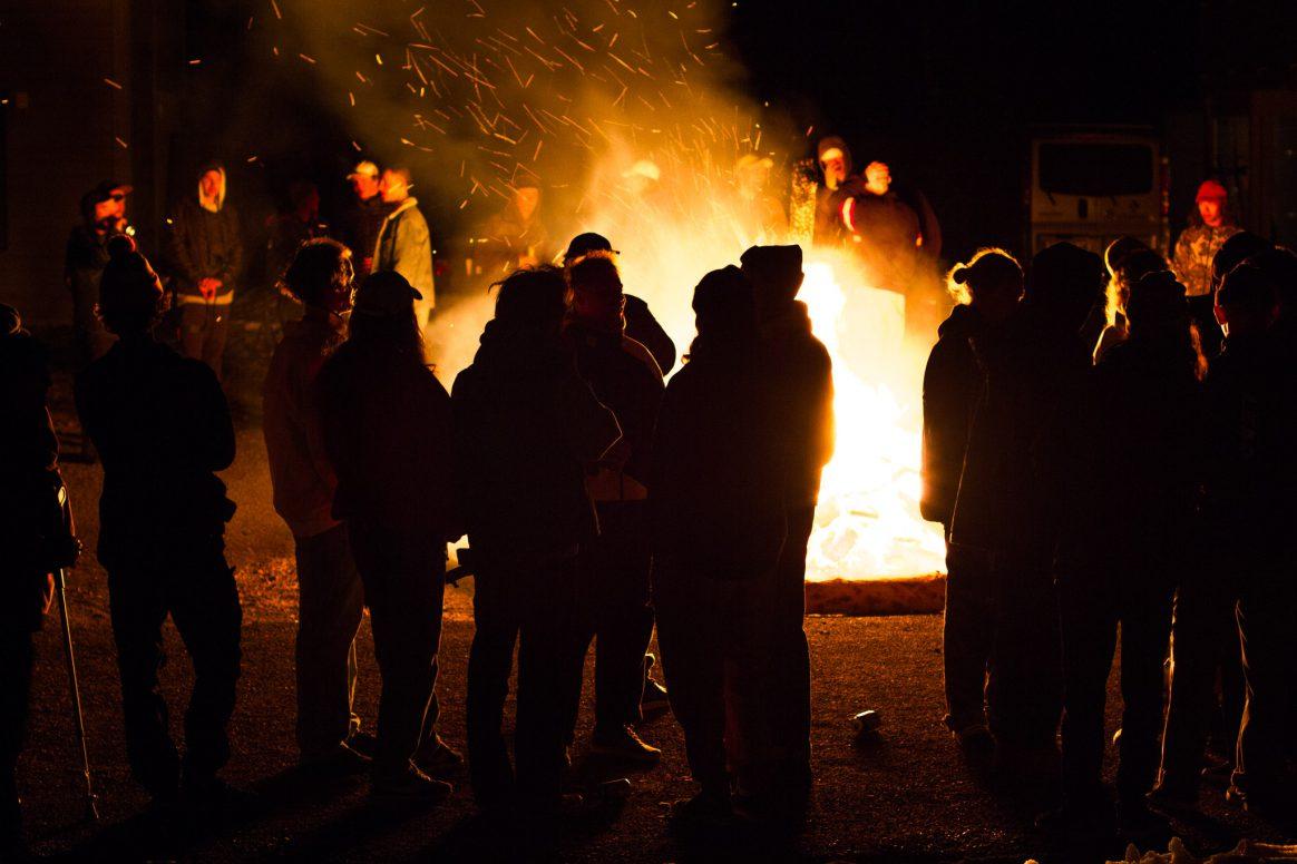 Valborg bonfire at Kimbo Sessions 2018