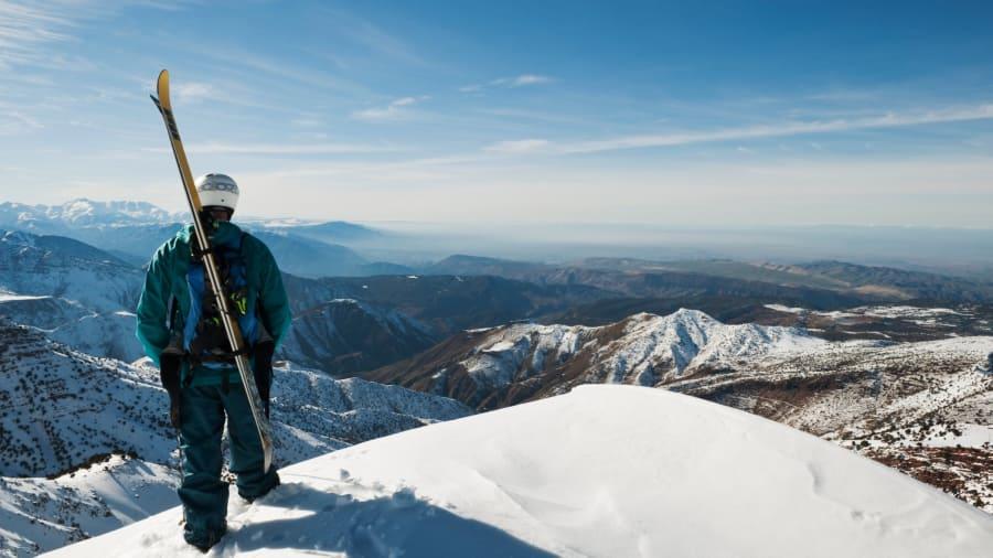 Morocco-skiing