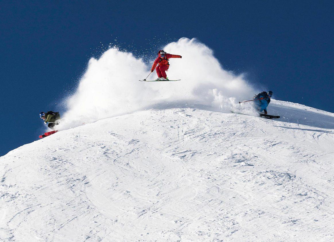 Switzerland-skiing