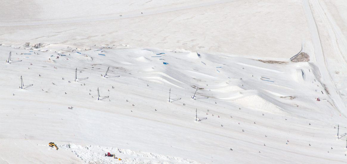 Zermatt summer snowpark, July 2018, Downdays, Ethan Stone