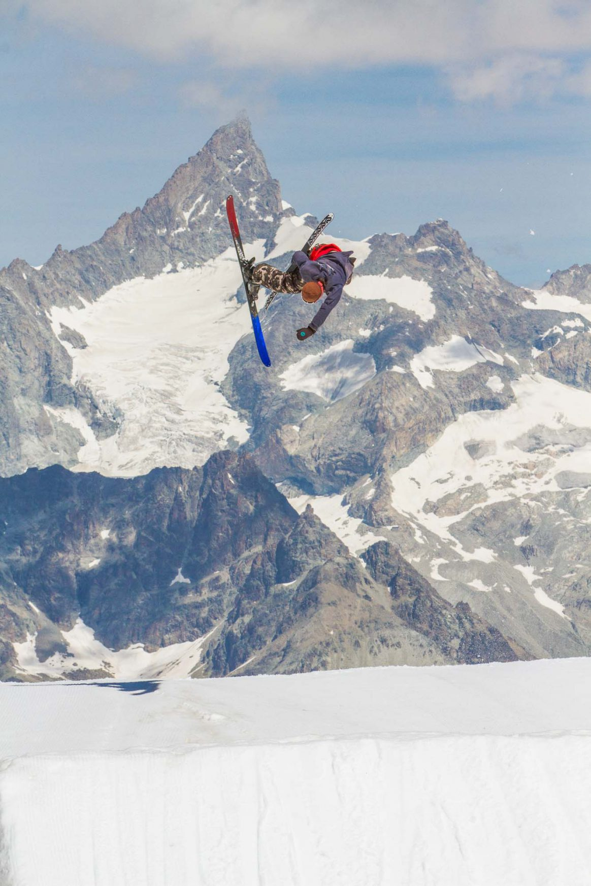 Kai Mahler, cork 360 japan, zermatt snowpark, ethan stone, downdays