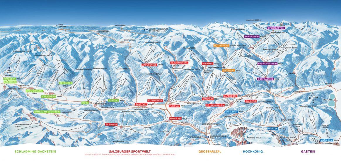 Ski Amande Piste Map