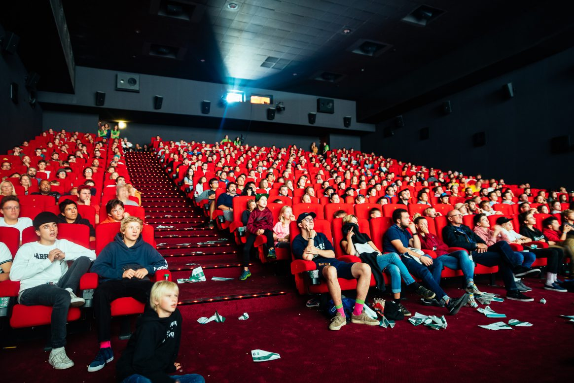 Packed cinema at High Five Festival
