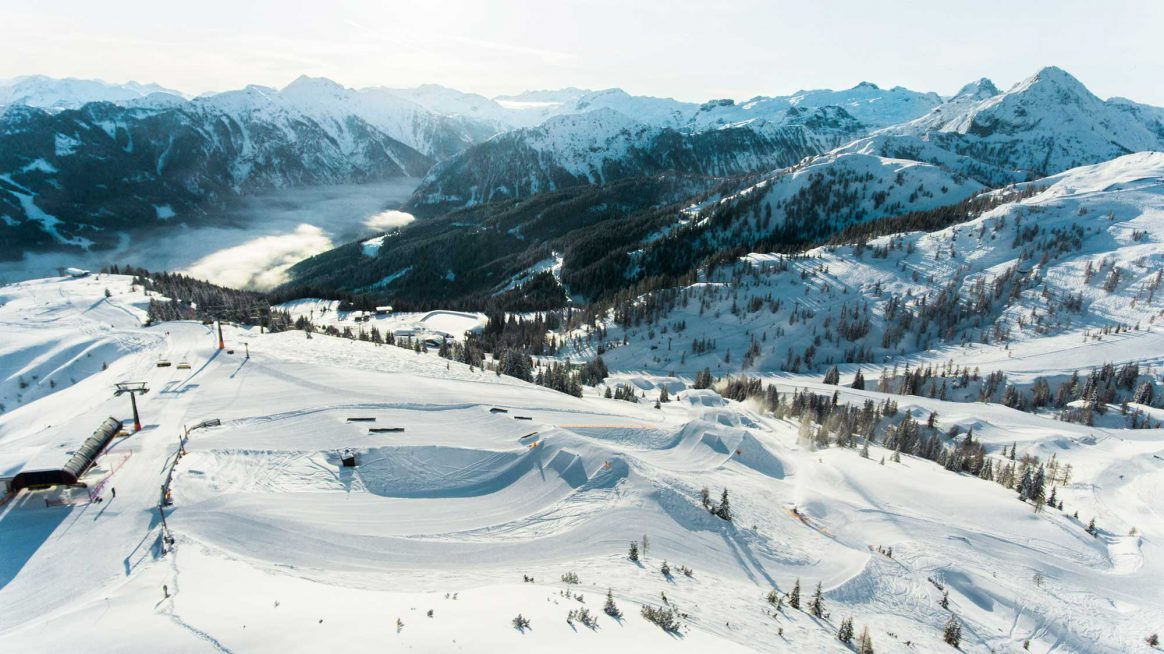 Absolut Park voted one of Europes Top Snowparks in Downdays Snowpark Poll