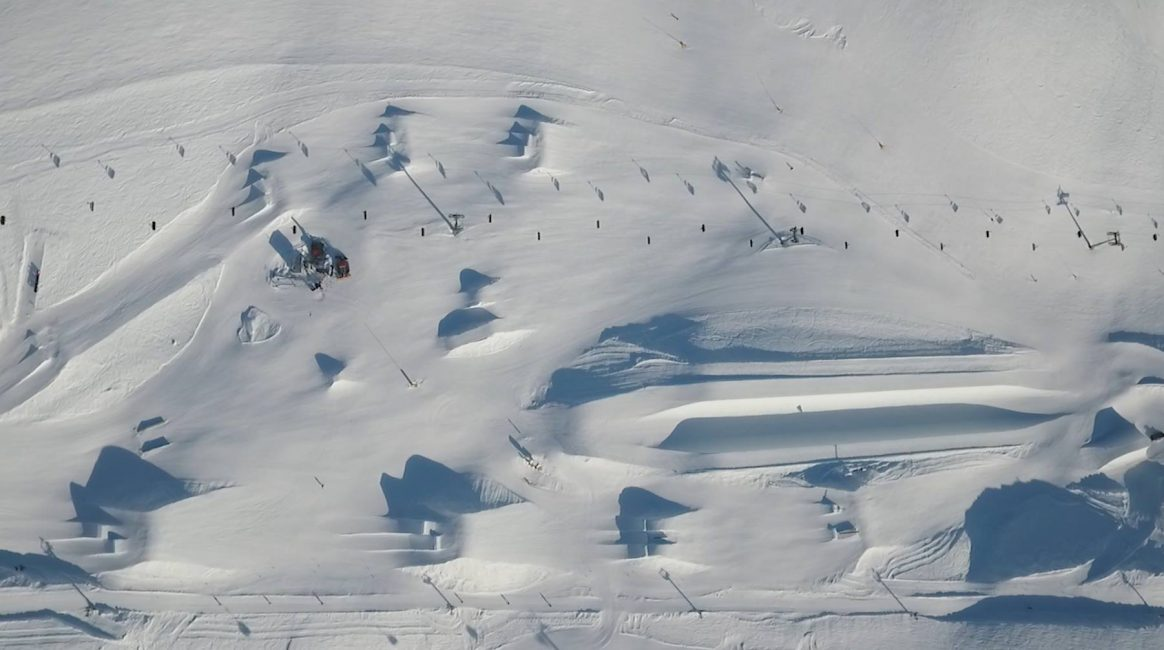 Crans-Montana Snowpark voted one of Europe's top 10 snowparks