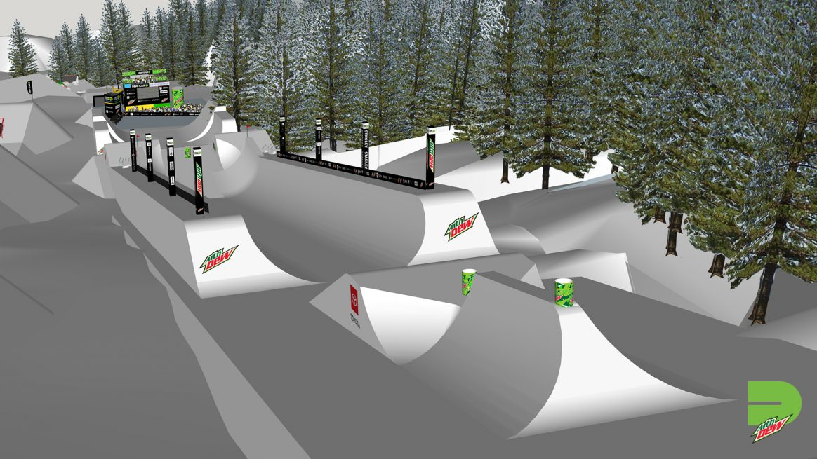 Winter Dew Tour Modified Superpipe