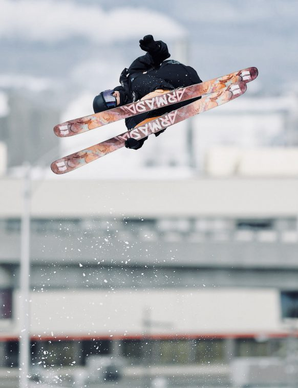 Freestyle skier Paul Vieuxtemps