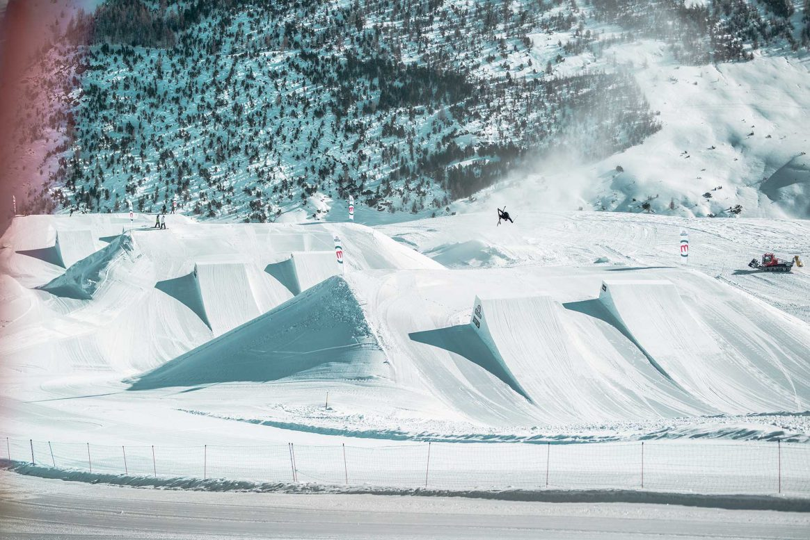 Mottolino Snowpark voted one of Europes Best Snowparks 2018