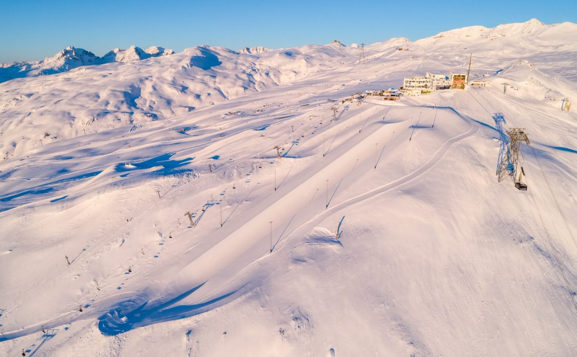 Snowpark Laax voted one of Europe's top 10 Snowparks in the Downdays Snowpark Poll