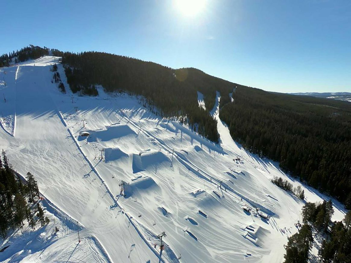 Kläppen Snowpark voted one of Europe's top 10 Snowparks
