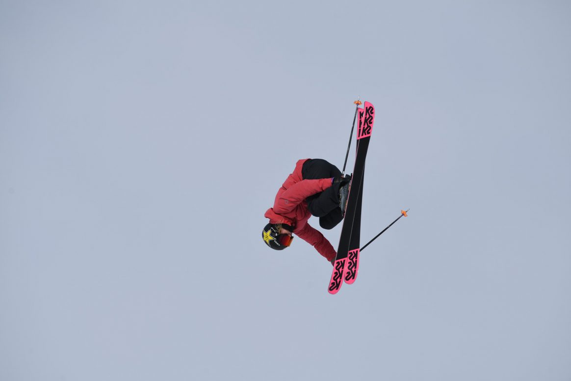 Aspen, CO - January 22, 2019 - Buttermilk Mountain: Johanne Killi competing in Women's Ski Big Air during X Games Aspen 2019