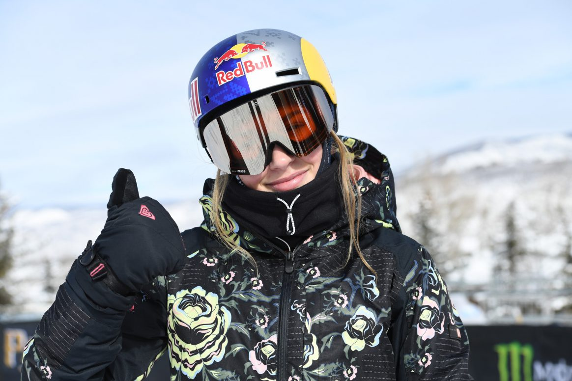 Aspen, CO - January 22, 2019 - Buttermilk Mountain: Kelly Sildaru competing in Women's Ski Big Air during X Games Aspen 2019 (Photo by Eric Lars Bakke / ESPN Images)