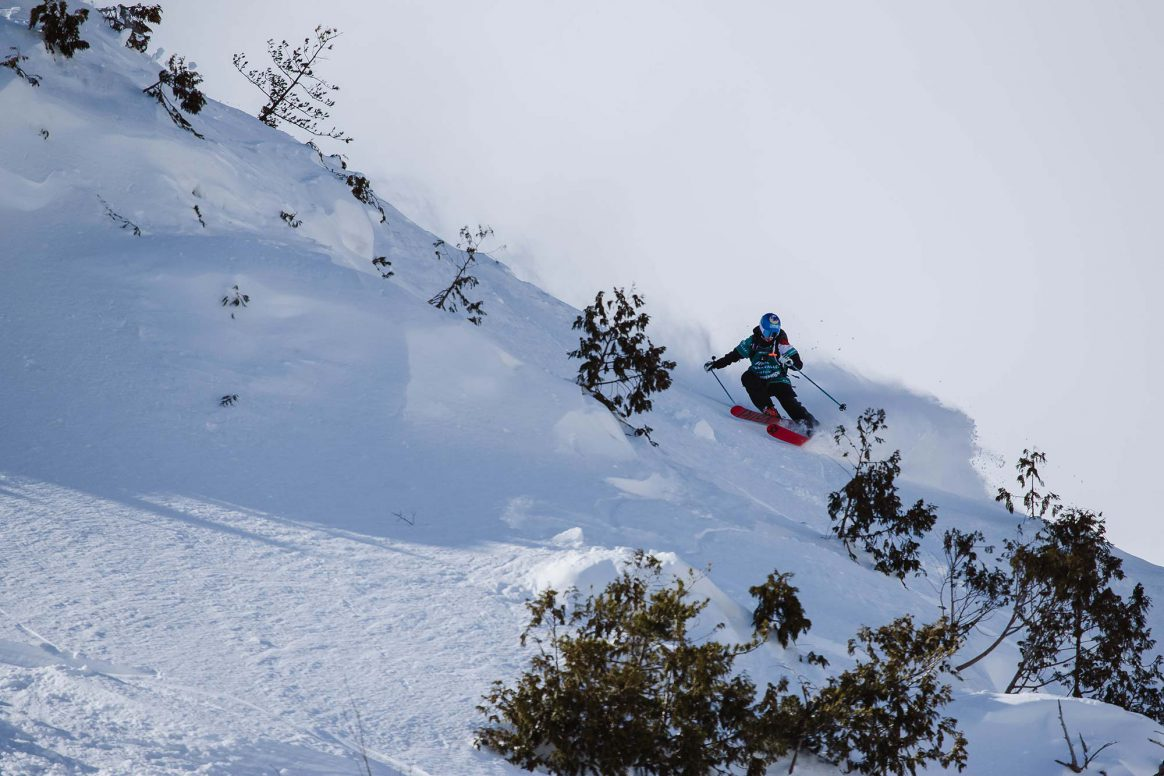 Maude Besse, Freeride World Tour Hakuba