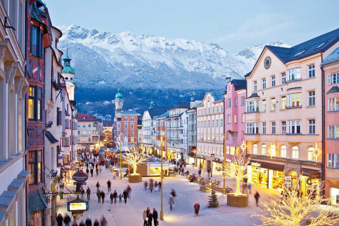 Downtown Innsbruck, Austria