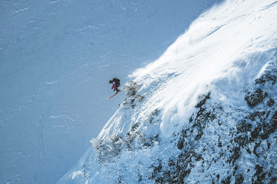 Jacqueline Pollard takes second place at the Freeride World Tour in Fieberbrunn, Austria