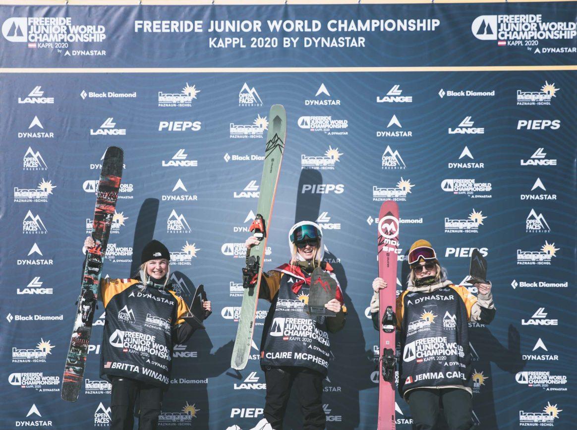 FREERIDE JUNIOR WORLD CHAMPIONSHIP KAPPL 2019
