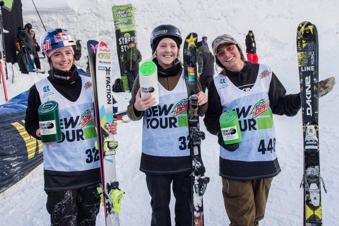 Podium_womens_ski_street_final_copper_dew_tour_2020_Sklar--7859